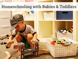 how to homeschool when you have little ones