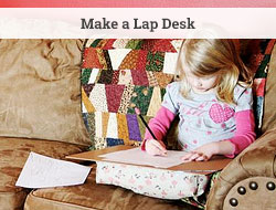 Minimal sewing lapdesk
