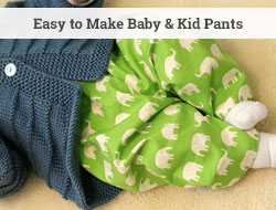 sew easy baby and kid pants