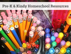 homeschool resources for pre-k and kindy
