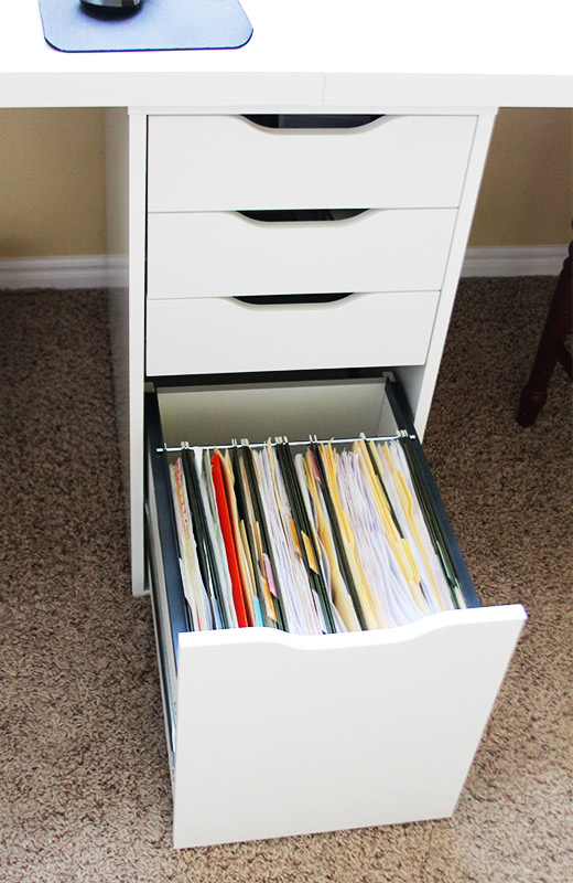 The Drawers In Particular Are Designed For Hard Flooring There Is A Little Wheel That Attaches To Base Of Filing
